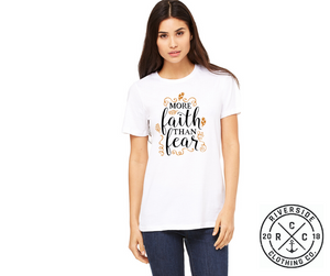 More Faith than Fear Tee