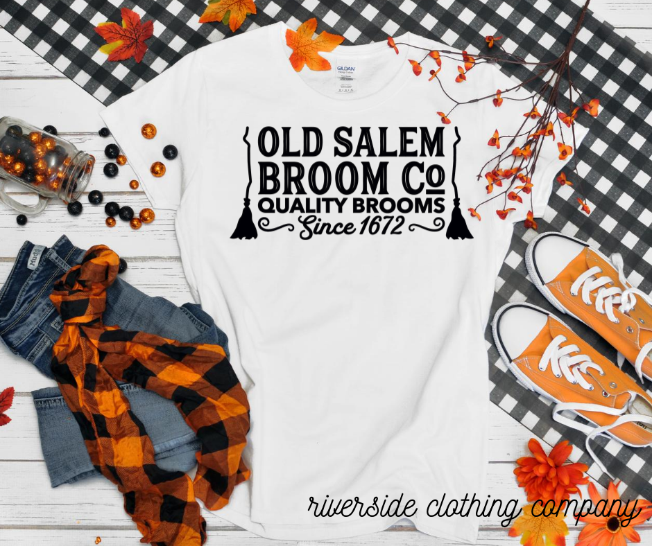 Old Salem Broom Company Tee