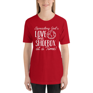 Shoebox Tee - Red