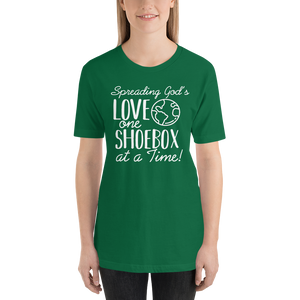 Shoebox Tee - Green