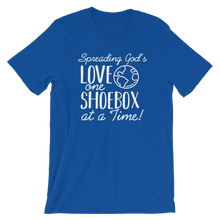 Load image into Gallery viewer, Shoebox Tee - Blue