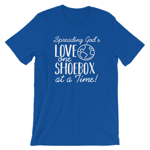 Shoebox Tee - Blue