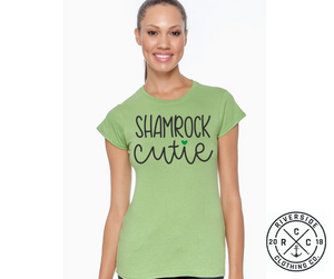 Shamrock Cutie - Women's Cut