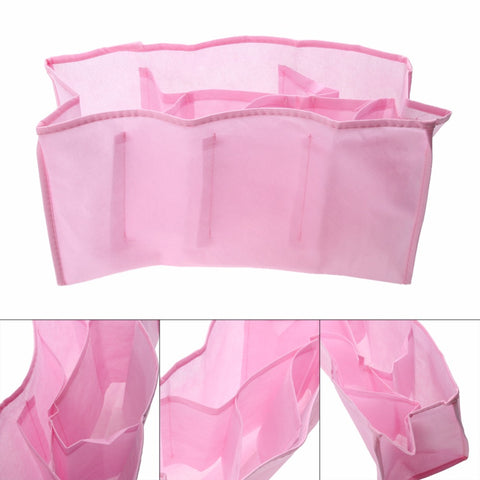 Portable Travel Outdoor Baby Diaper Nappy Organizer Stuffs Insert Storage Bag For Mother Kids