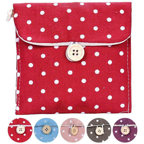 Candy Color Bags for Girl Cotton Diaper Bag Storage Organizer W/ Free Shipping
