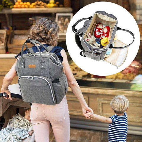 Mummy Maternity Nappy Bag Large Capacity Baby Stroller Bags Travel Backpack Nursing Bag Waterproof Travel Handbag Baby Care