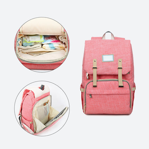New Fashion Diaper Bag Backpack Large Capacity Baby Nappy Bag for Baby Care Fashion Mummy Maternity Diaper Bag Baby Bags