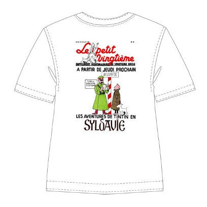 T-shirt Retro Syldavie