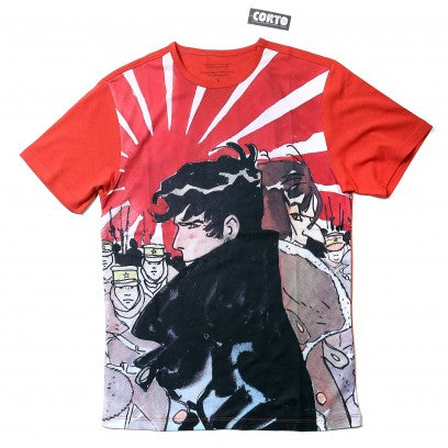 T-shirt Corto Maltese Red