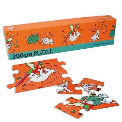 Puzzel Snowy and Parrot 52pcs