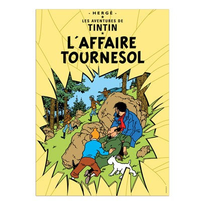 Poster Album Cover - L'affiare Tournesol