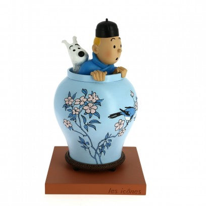 The Icones Blue Lotus Vase