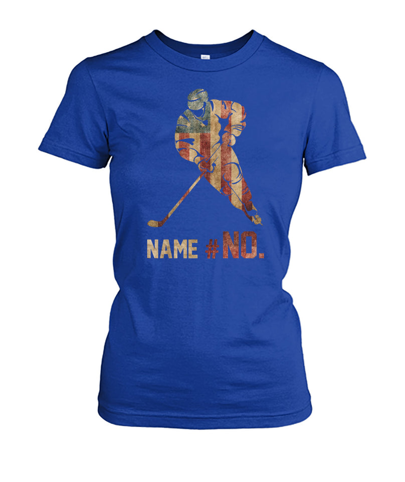FLAG HOCKEY SHIRT - NAME - NUMBER - LIMITED EDITION
