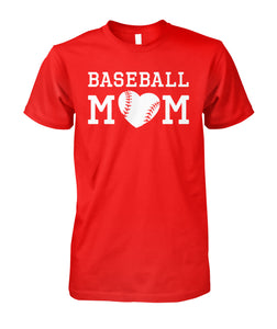 SPECIAL ORDER - BASEBALL MOM - RED