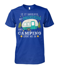 GRANDKIDS AND CAMPING- LIMITED EDITION