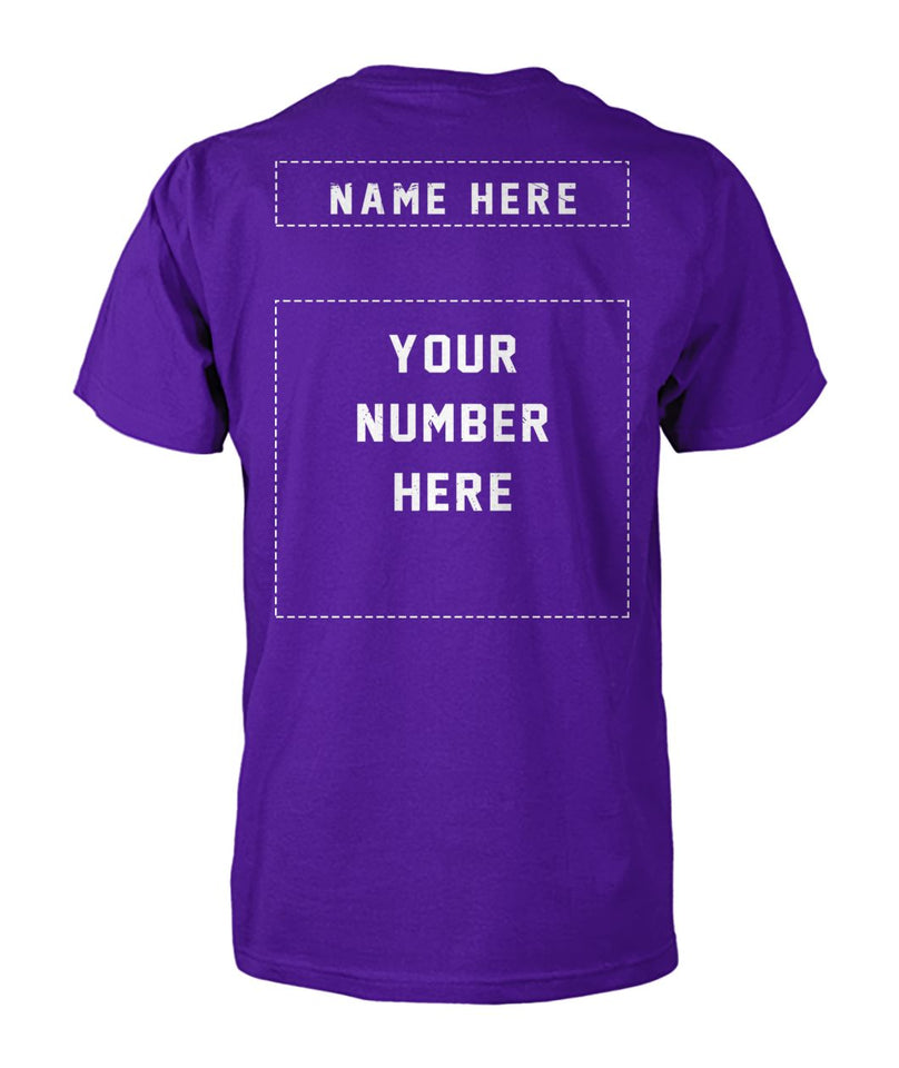 FLAG SOCCER SHIRT NAME-NUMBER- CUSTOMIZED SHIRT (D)