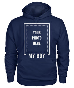 MY BOY - CUSTOM SHIRT WITH PHOTO - LIMITED EDITION