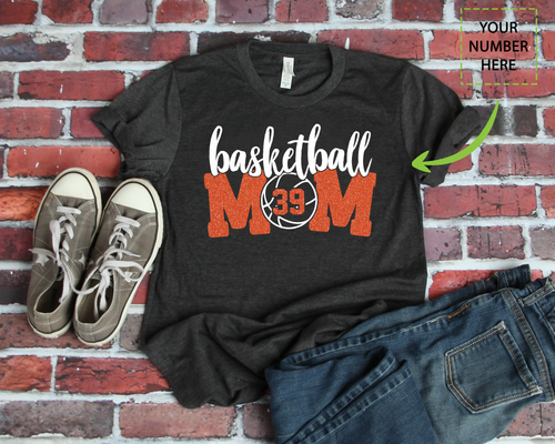 BASKETBALL MOM - CUSTOMIZED SHIRT