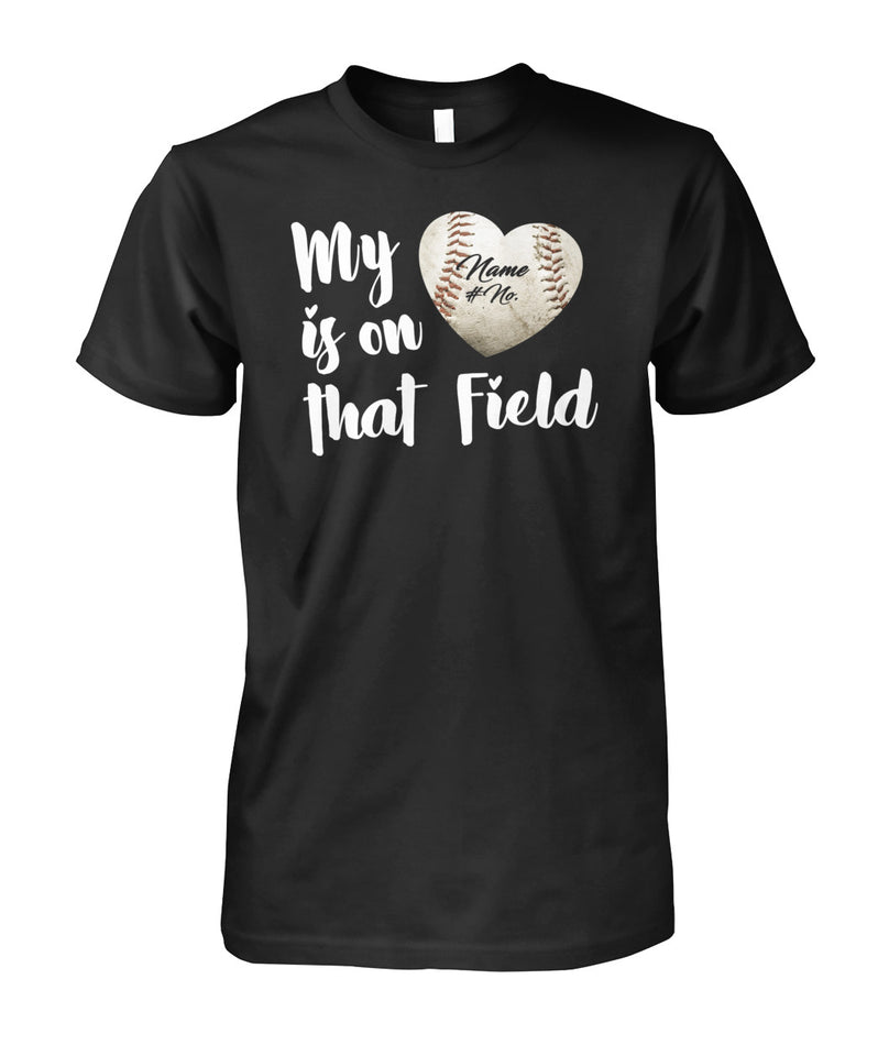 MY LOVE IS ON THAT FIELD