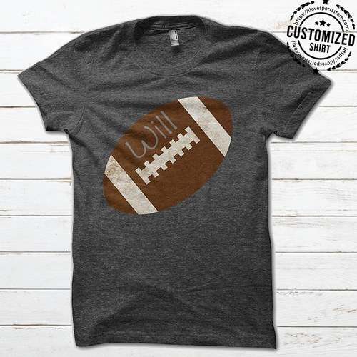 FOOTBALL - IRON - CUSTOMIZED SHIRT