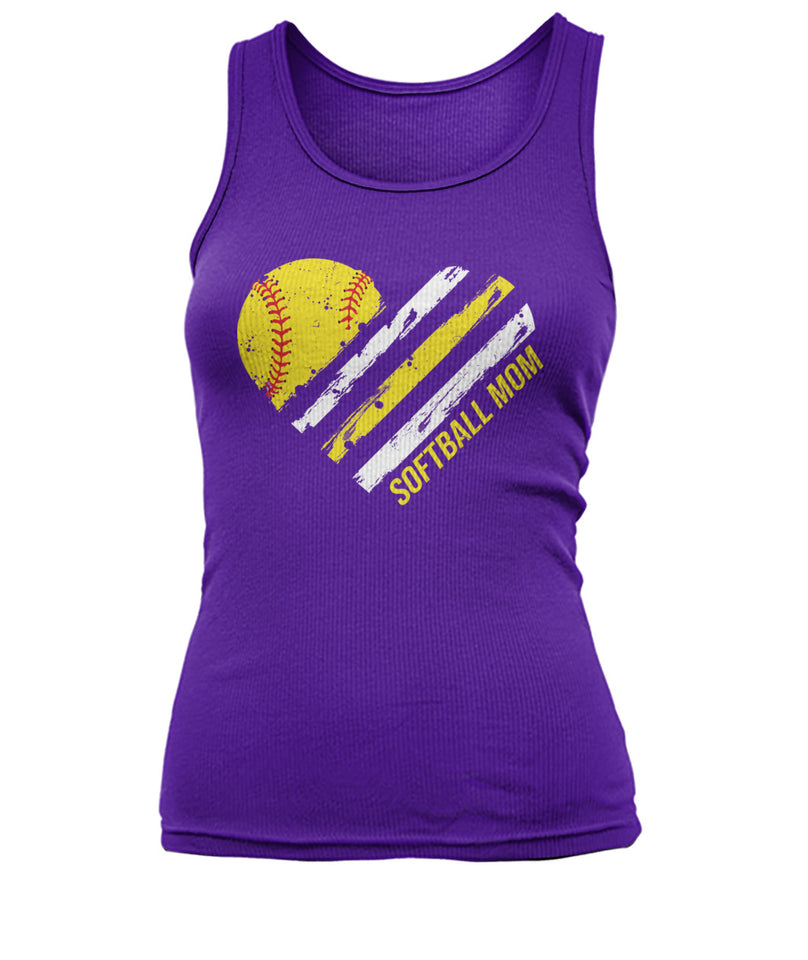 SOFTBALL MOM SHIRT - 2 SIDES - LIMITED EDITION