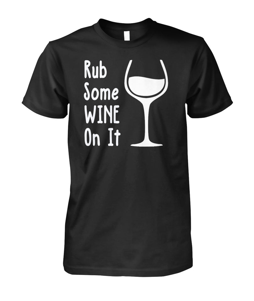 RUB SOME WINE ON IT