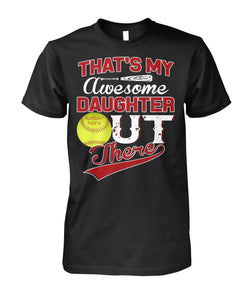 MY AWESOME SOFTBALL DAUGHTER
