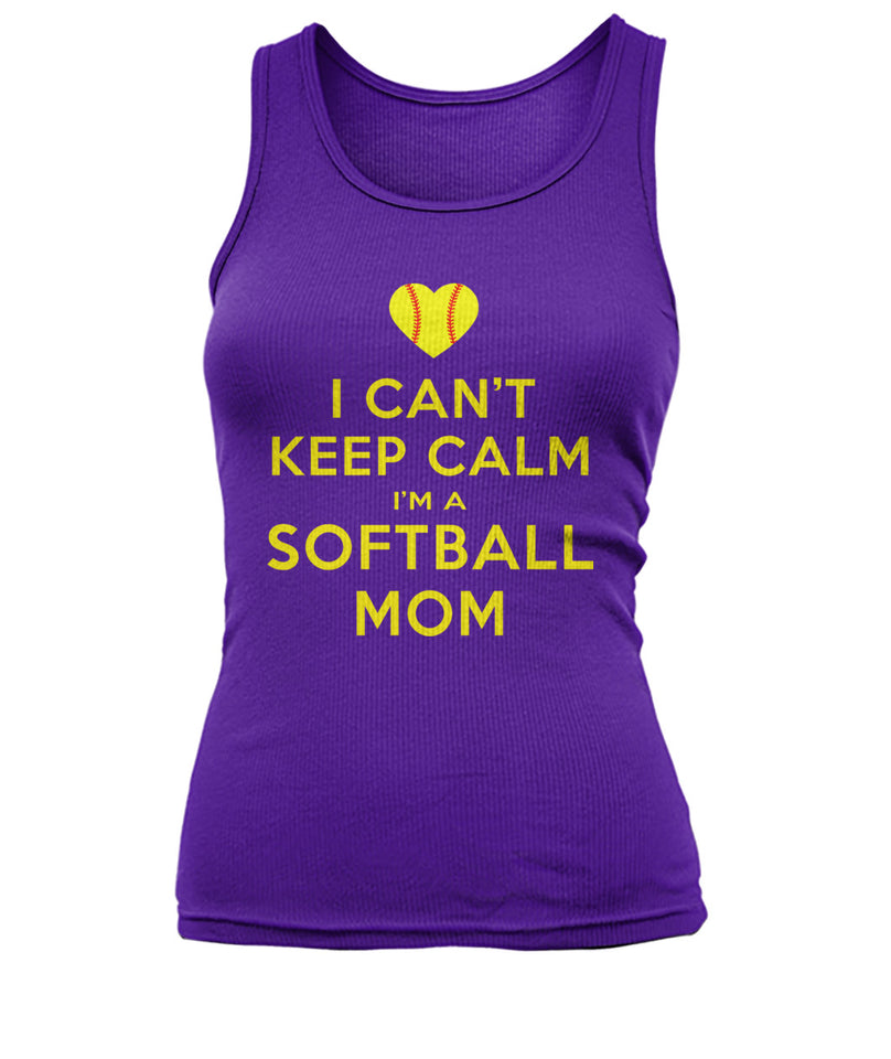 I CAN'T KEEP CALM - I'M A SOFTBALL MOM