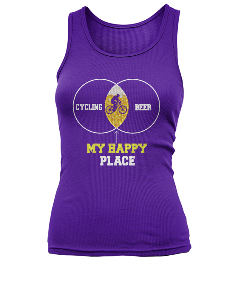 MY HAPPY PLACE  Women's Tank Top