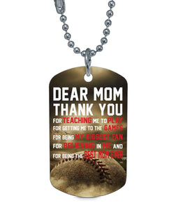MY BIGGEST FAN DOG TAG