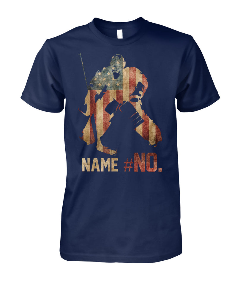 SPECIAL ORDER - FLAG HOCKEY SHIRT - GOALIE