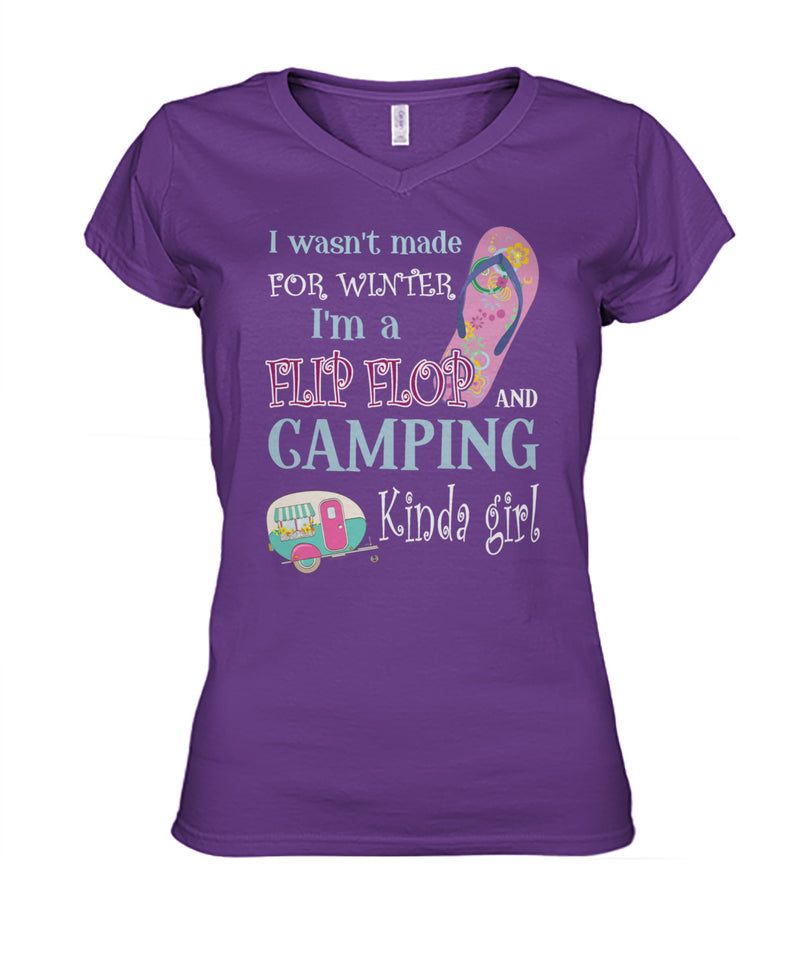 CAMPING- I WASN'T MADE FOR WINTER