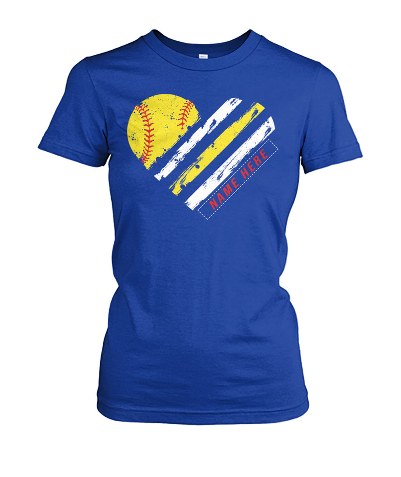 SOFTBALL SHIRT - NAME - NUMBER - LIMITED EDTITION