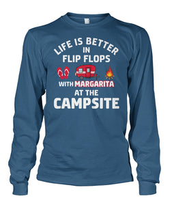 LIFE IS BETTER IN FLIP FLOPS WITH MARGARITA- Special order