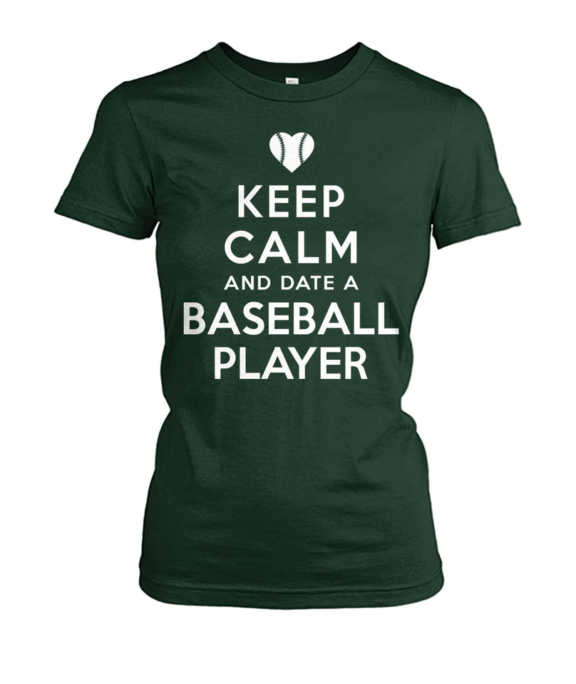 KEEP CALM & DATE A BASEBALL PLAYER