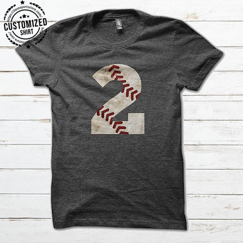 BASEBALL - NUMBER IRON - CUSTOMIZED SHIRT