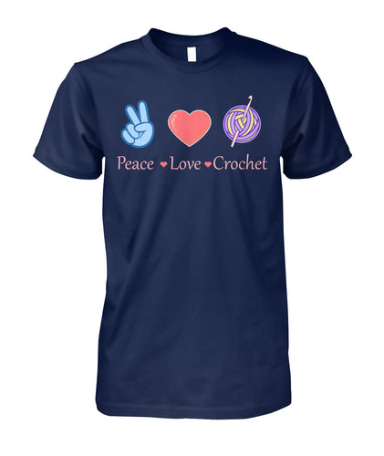 CROCHET- PEACE LOVE CROCHET