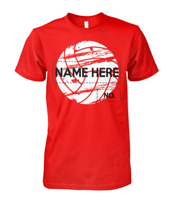 VOLLEYBALL - NAME - NUMBER - LIMITED EDITION