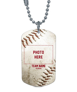 BASEBALL TEAM DOG TAG - LIMITED EDITION