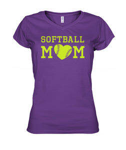 SOFTBALL MOM - 2 SIDES - LIMITED EDITION