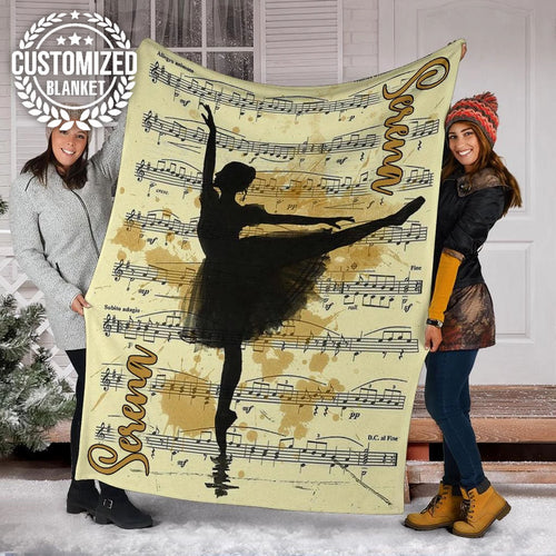 Ballet Art Painting Custom Blanket - MP28111902NG