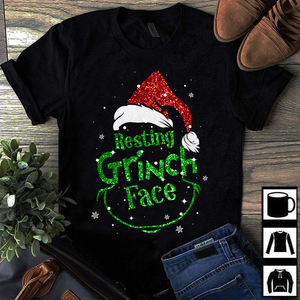 RESTING GRINCH FACE - LIMITED EDITION