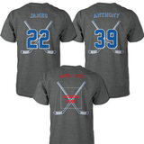 HOCKEY SHIRT - NAME - NUMBER - CUSTOMIZED SHIRT