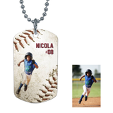 BASEBALL DOG TAG - LIMITED EDITION