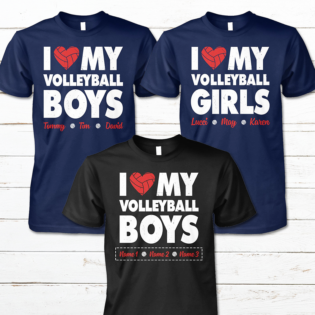 I LOVE MY VOLLEYBALL GIRLS - LIMITED EDITION