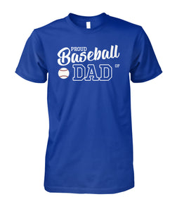 BASEBALL DAD SHIRT - NAME - NUMBER - LIMITED EDITION