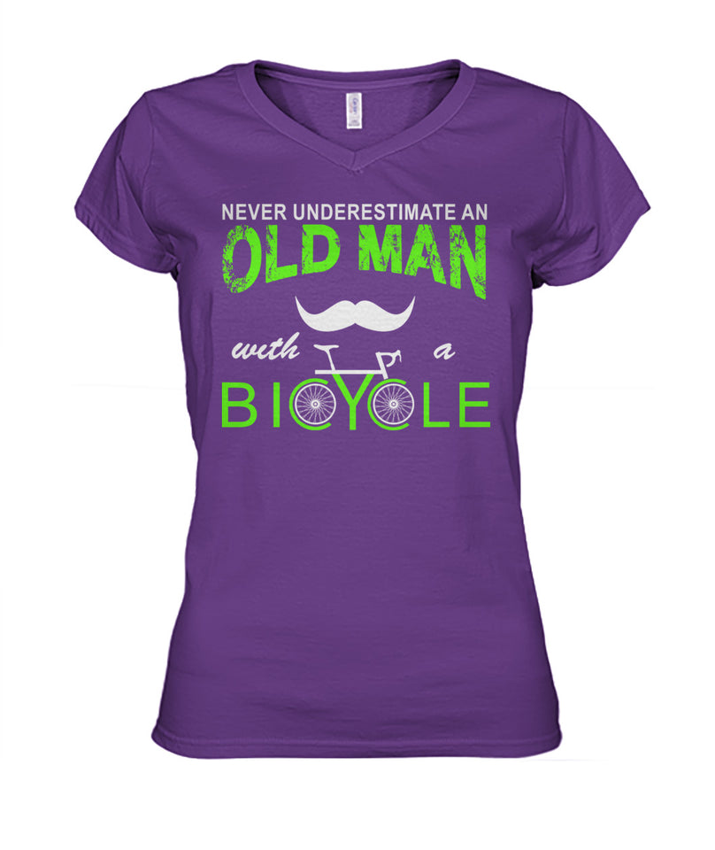 CYCLING- NEVER UNDERESTIMATE AN OLD MAN