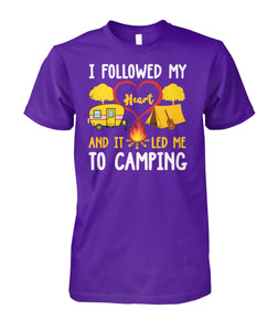 MY HEART LED ME TO CAMPING