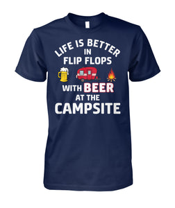 LIFE IS BETTER IN FLIP FLOPS WITH BEER-Special order!
