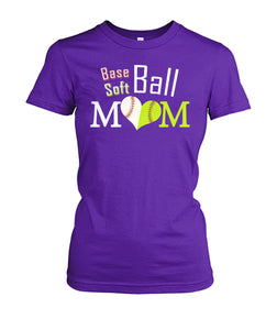 BASE-SOFT BALL MOM SHIRT - LIMITED EDITION